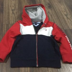 Tommy Hilfiger zippered hoody size 4